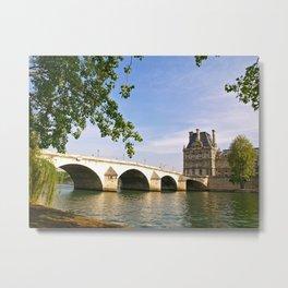 Pont Royal Metal Print
