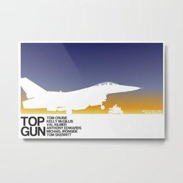 Top Gun Metal Print