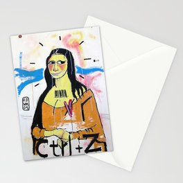 Gioconda - RDVM05 (Paint Canvas) Stationery Cards