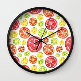 Citrus Blend Wall Clock