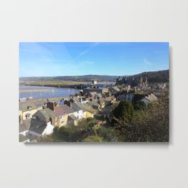 Spring Day At Conwy Metal Print