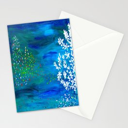 Noite feliz Stationery Cards