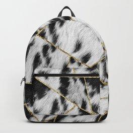 Animal Fur Gold Geometric Glam #2 #geo #decor #art #society6 Backpack