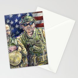Soldiers 1  Stationery Cards
