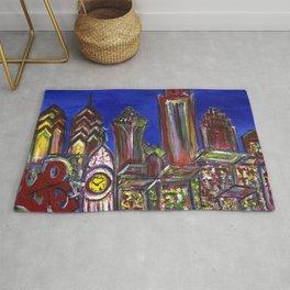 Philly Skyline LOVE Rug