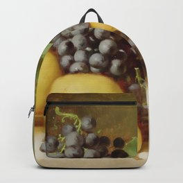 Batcheller Still Life With Pears & Grapes Backpack