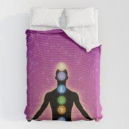 Crypto Chakra Comforters