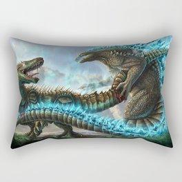 Godzilla VS. Atomic Rex Rectangular Pillow