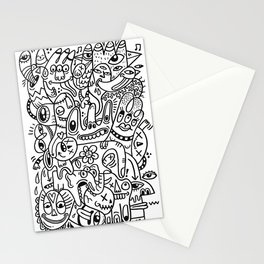 Follow the Line Stationery Cards