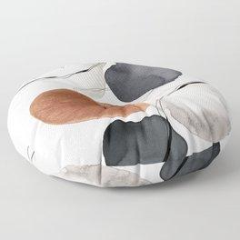 Abstract World Floor Pillow