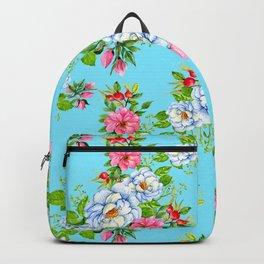 Vintage Floral Pattern No. 8 Backpack