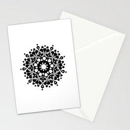 Mandala | Black #3 Stationery Cards