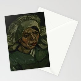 Head of a Woman Stationery Cards
