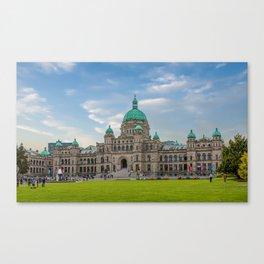 British Columbia Parliament Canvas Print