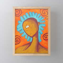 Cyclops Framed Mini Art Print