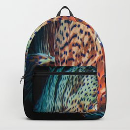 grouper diving underwater Backpack