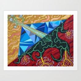 Dualistic Expression Art Print