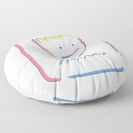 Mr. Hilarious Floor Pillow
