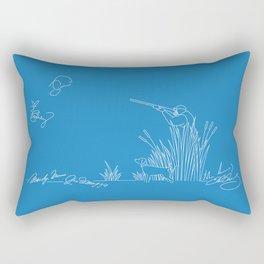 Autograph Hunter Rectangular Pillow
