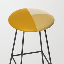 Mustard Tones Bar Stool