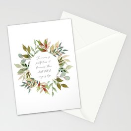 Songs Of Hope Wreath Stationery Cards