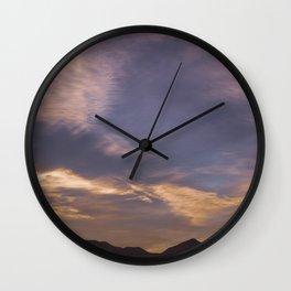 Cabo de gata Wall Clock