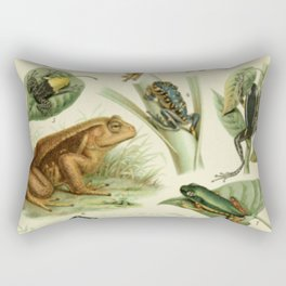 Frogs And Toads Rectangular Pillow