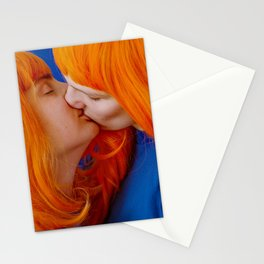 kiss (on being single) Stationery Cards