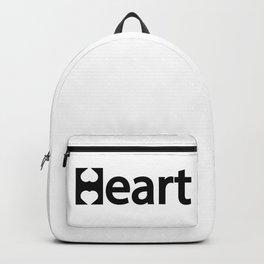 Creative Heart Design Backpack