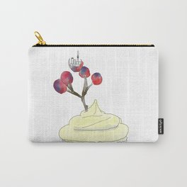 Auckland, Frosting, Berry Branch Carry-All Pouch