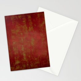 Grunge red background Stationery Cards