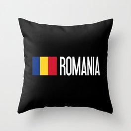 Romania: Romanian Flag & Romania Throw Pillow
