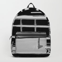 Rambler Black and White Backpack