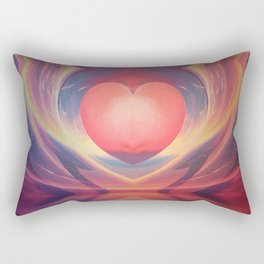 Mega Heartz Rectangular Pillow