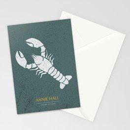 Annie Hall - Alternative Movie Poster Stationery Cards