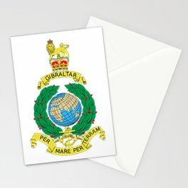 Royal Marines Corps UK Military Veteran Morale T-Shirt Stationery Cards