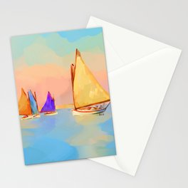 Rainbow Fleet Stationery Cards