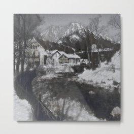 Austrian Winter I Metal Print