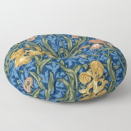 "William Morris ""Iris"" 1. Floor Pillow"