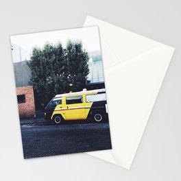 yellow magic van Stationery Cards