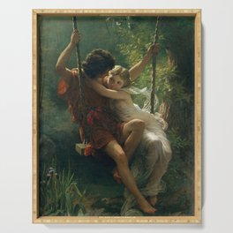 Springtime by Pierre-Auguste Cot 1873, French Serving Tray
