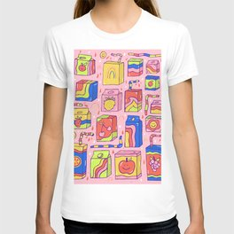 Juice Box Print T-shirt