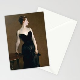 Portrait of Madame X by John Singer Sargent - Vintage Fine Art Oil Painting Stationery Cards