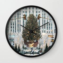 New York City (Christmas) Wall Clock