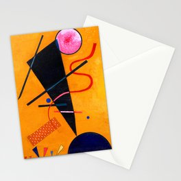 Wassily Kandinsky - Contact - Abstract Art Stationery Cards