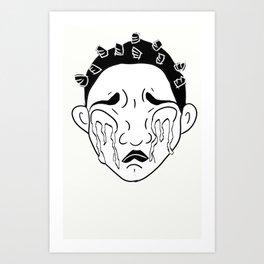 Emotional: Allira Art Print