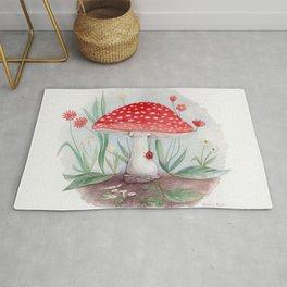 Wild Mushroom Rug