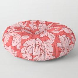 Pretty Pink Pattern Floor Pillow
