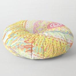 Sunkissed Mandalas Floor Pillow