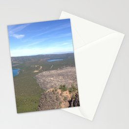 Newberry Volcano Panorama Stationery Cards